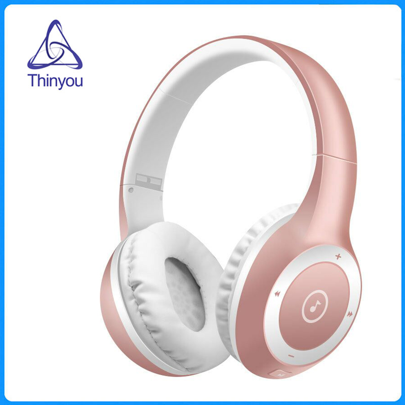 Thinyou HIFI Earphones Wireless Bluetooth Stereo Headband Headphones Super Bass Foldable Headset Support TF Card With Mic 3gb ram 16gb rom m8s pro android 7 1 tv box amlogic s912 octa core 2 4g 5g dual wifi bt4 0 4k smart media player i8 keyboard