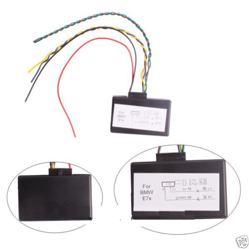 Retrofit Adapter Emulator Video In Motion, Navi, Voice For BMW CIC X5 X6 E70 E71