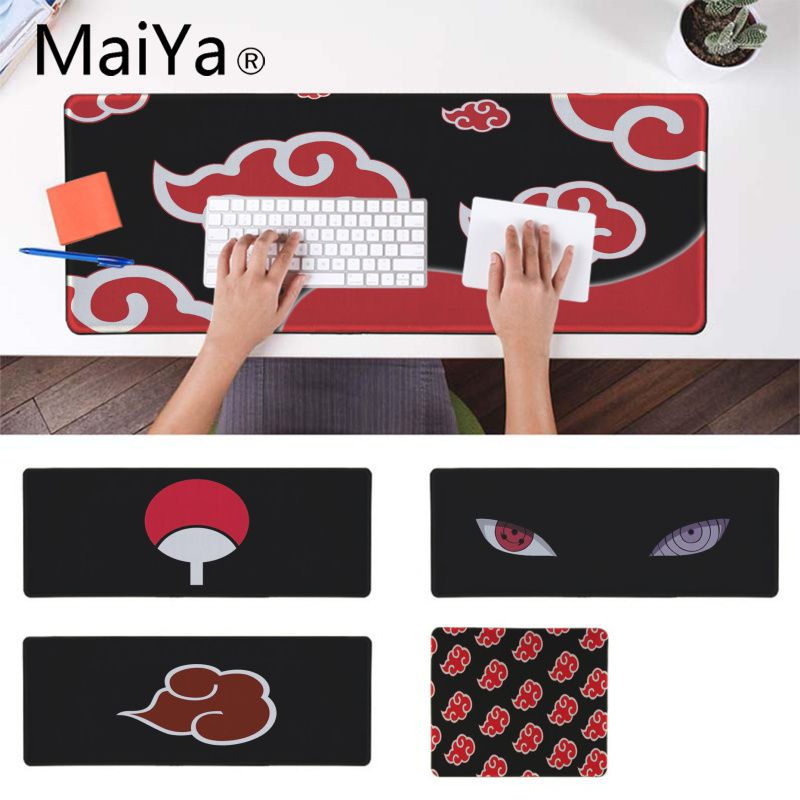 Maiya Naruto Japan Anime Laptop Gaming Mice Mousepad Locking Edge Gaming Mouse Pad Anime Mousepad Mat Speed Tablet Mouse Pad