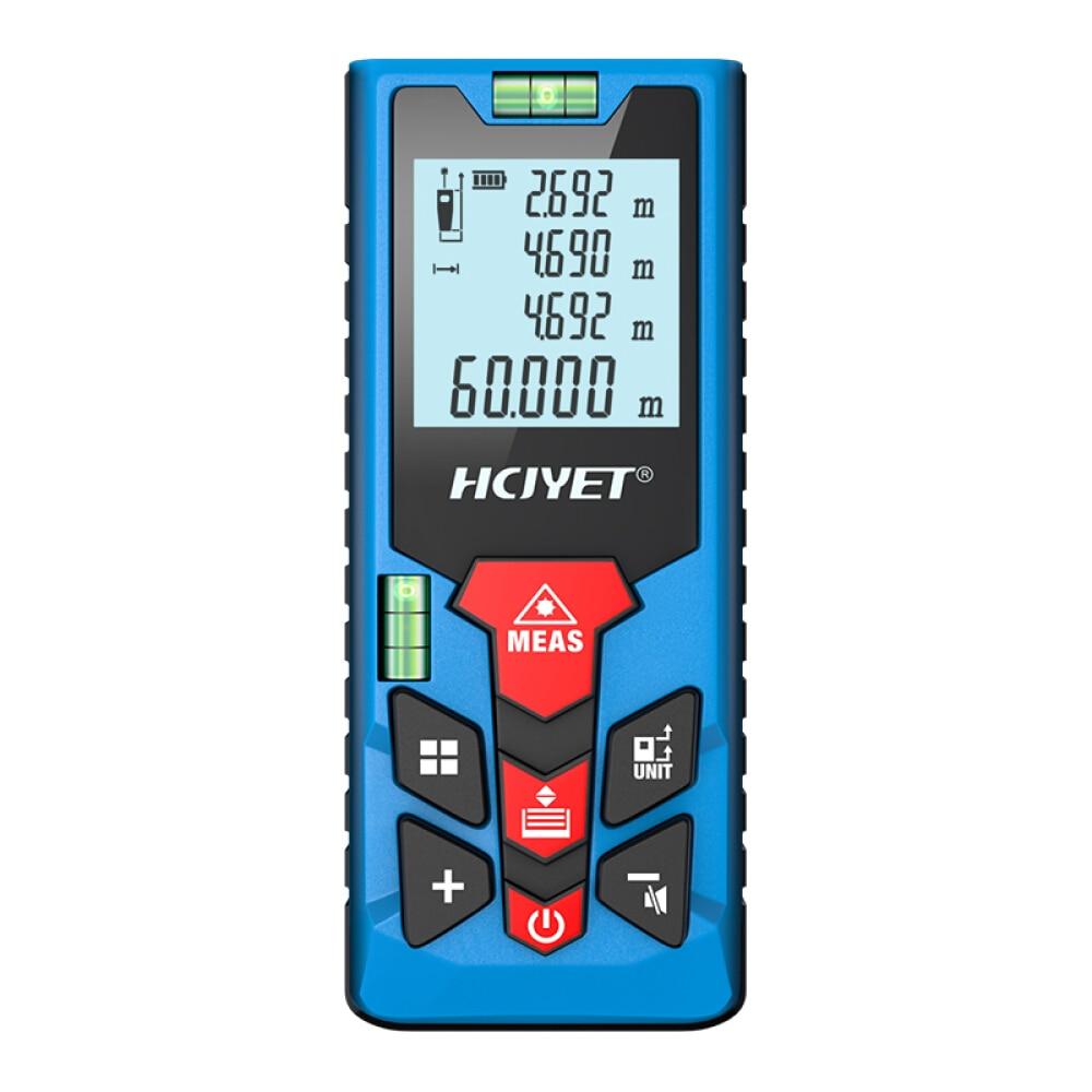 Mileseey Portable Laser Distance Meter 60M Laser Rangefinder High-precision Digital  Trena Laser Tape Range Finder Measure Tool
