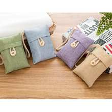 Home Air Purifying Bags in Cars, Activated Charcoal Freshener Japanese Korean Bamboo Bag Car Accessories
