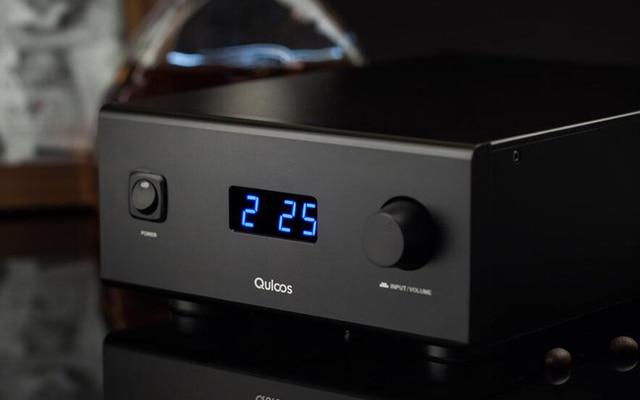 QLS HIFI QA690 Pure Full Digital Audio Amplifier Input PC USB/Coaxial*2/Optical/RCA Power Handle 160W*2 Support DSD 24Bit/192KHz 1