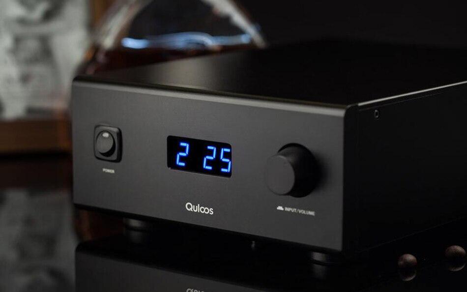 QLS HiFi qa690 чистый полный цифровой аудио Усилители домашние Вход ПК USB/коаксиальный * 2/оптический/RCA Мощность ручка 160 Вт * 2 Поддержка DSD 24bit/192 кГц