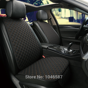 Image 4 - Car Front Seat Back Cushion Car seat cushions Seat Cover Protector Pad Mat for Auto Front Car Styling Car Decorate Protect