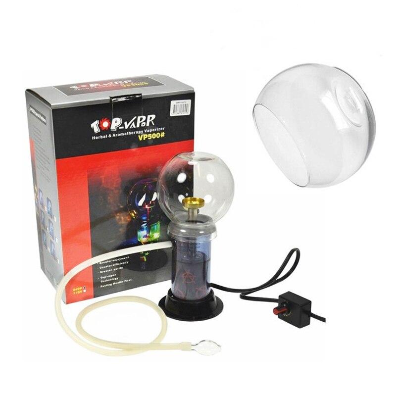 Évaporateur de tabac électrique vaporisateur d'herbe numérique couvercle en verre arôme à base de plantes vaporisateur de chauffage électrique