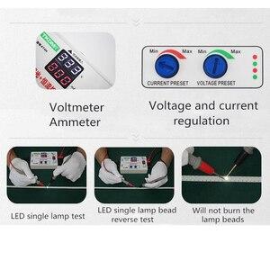 Image 5 - TKDMR Luz LED de fondo para TV, ajuste Manual de ajuste inteligente de 0 330V, comprobador de retroiluminación LED de voltaje ajustable de corriente, Cuenta de lámpara LED de placa controladora CC