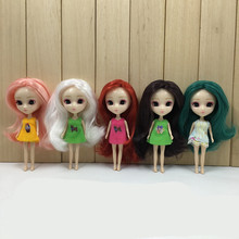 ICY Petite Blythe Doll Colorful Hair 10cm