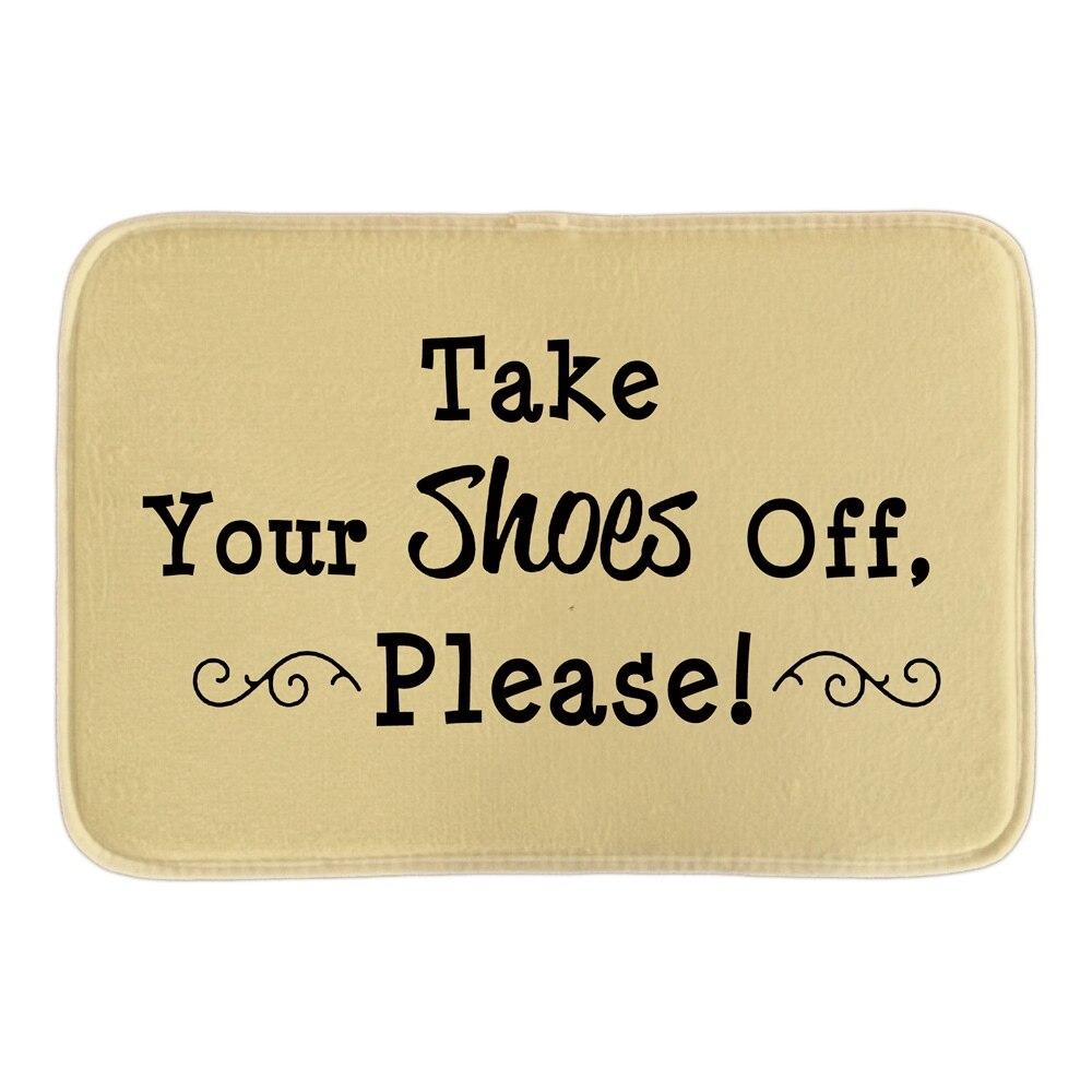 Take Your Shose Off Please Doormats Cute Home Welcome font b Indoor b font Outdoor Door