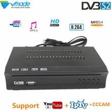 Vmade DVB S2 HD Receptor Digitale Tv Box DVB S2 M5 Satelliet TV Ontvanger h.264 MPEG4 ondersteuning IPTV Youtube cccam BissVu TV Decoder