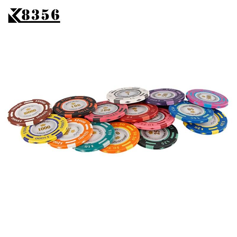 K8356 25PCS / Lot 14G צבע כפול USD סרט קליי טקסס - בידור