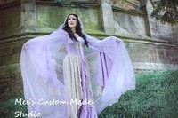 Medieval or Renaissance Gothic Velvet and Lace Theater Gown&Costume/Period Dress/Theater&Bridal Dress/Event Dress