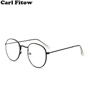 cc11a40851ef Carl Fitow Woman Optical Round Glasses Frame Eye Glass
