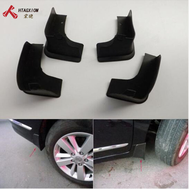 for Nissan Teana J32 2009-2013 Automobile Mud Flaps Guard Mudguard Fenders Splash Flaps Car Styling Automobile Accessories 4 Pcs free shipping 2013 2014 infiniti jx35 qx60 high quality soft plastic mud flaps splash guard