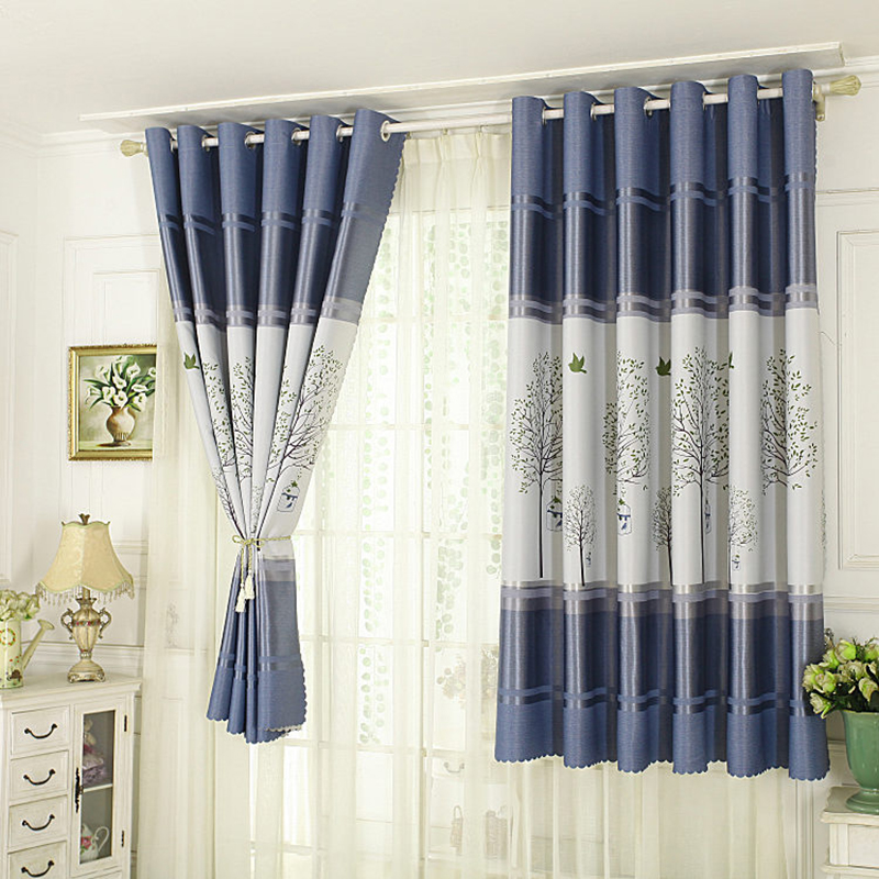 New Curtains Short For The Kitchen Blackout Curtain For Bedroom Window Screen Dividers Roman Blinds Curtains Aliexpress