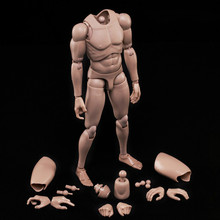 Collection 1/6 Scale Military Figures Male Body Series Asian Skin Tone MX02-B Resin Model Action Figure Toys