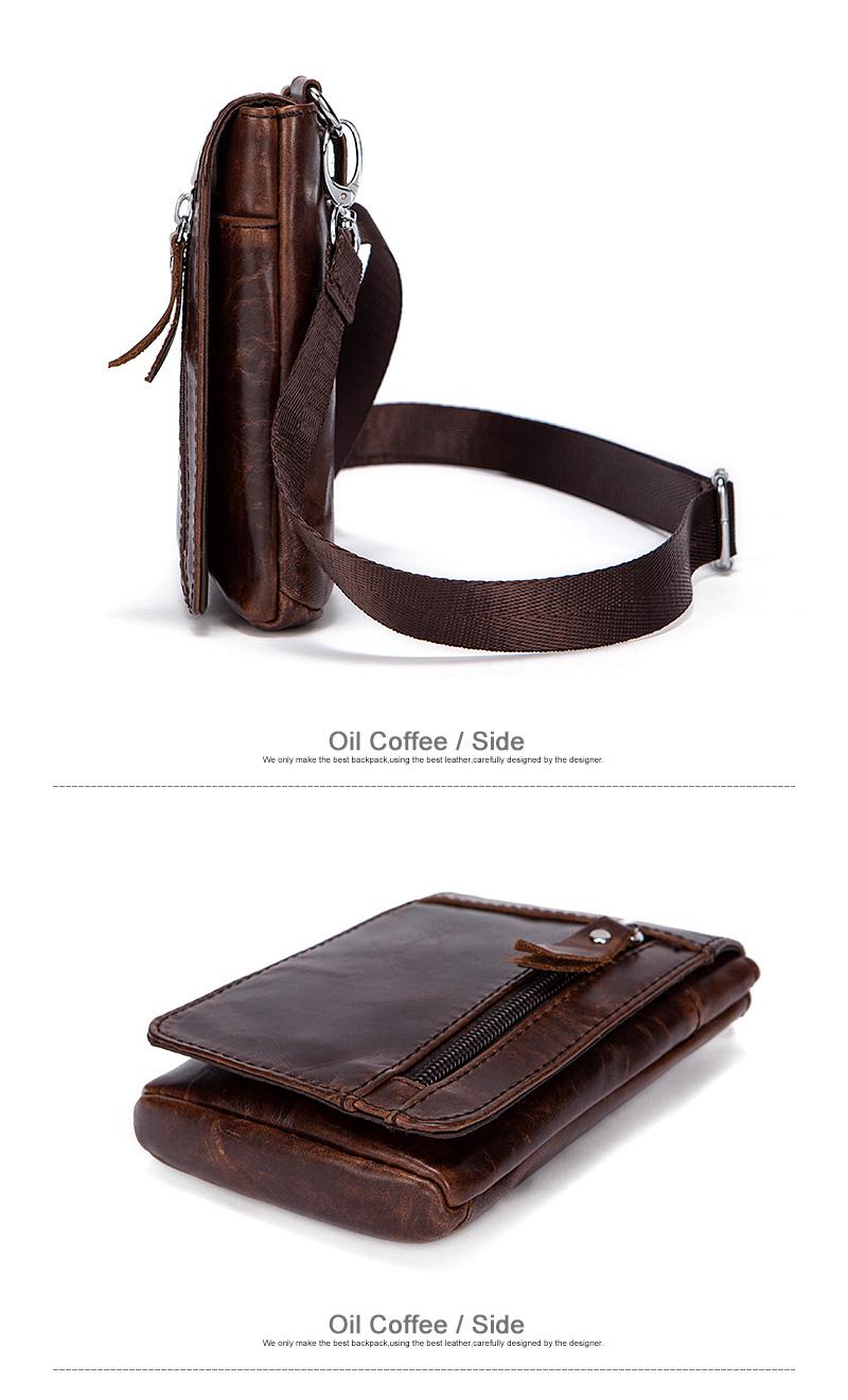 6 zippers bags pack waist packs