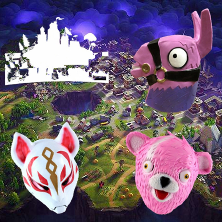 Boys Costume Accessories Fortniter Latex Mask Fortress Night Game Battle Royale Cosplay Fortnited Raptor Pilot Skin Mask Fortnight Raptor Pilot Ma Helmet Spare No Cost At Any Cost