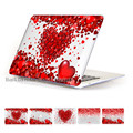 Сердце Любовь Печати Ноутбук Кристалл Pattern Воздуха 11 12 Жесткий Чехол для Macbook Pro Retina 13 15 Случае