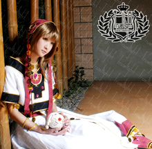 Tsubasa : Reservoir Chronicle Sakura Cosplay Costume Custom-Made Uniform Free Shipping(China)