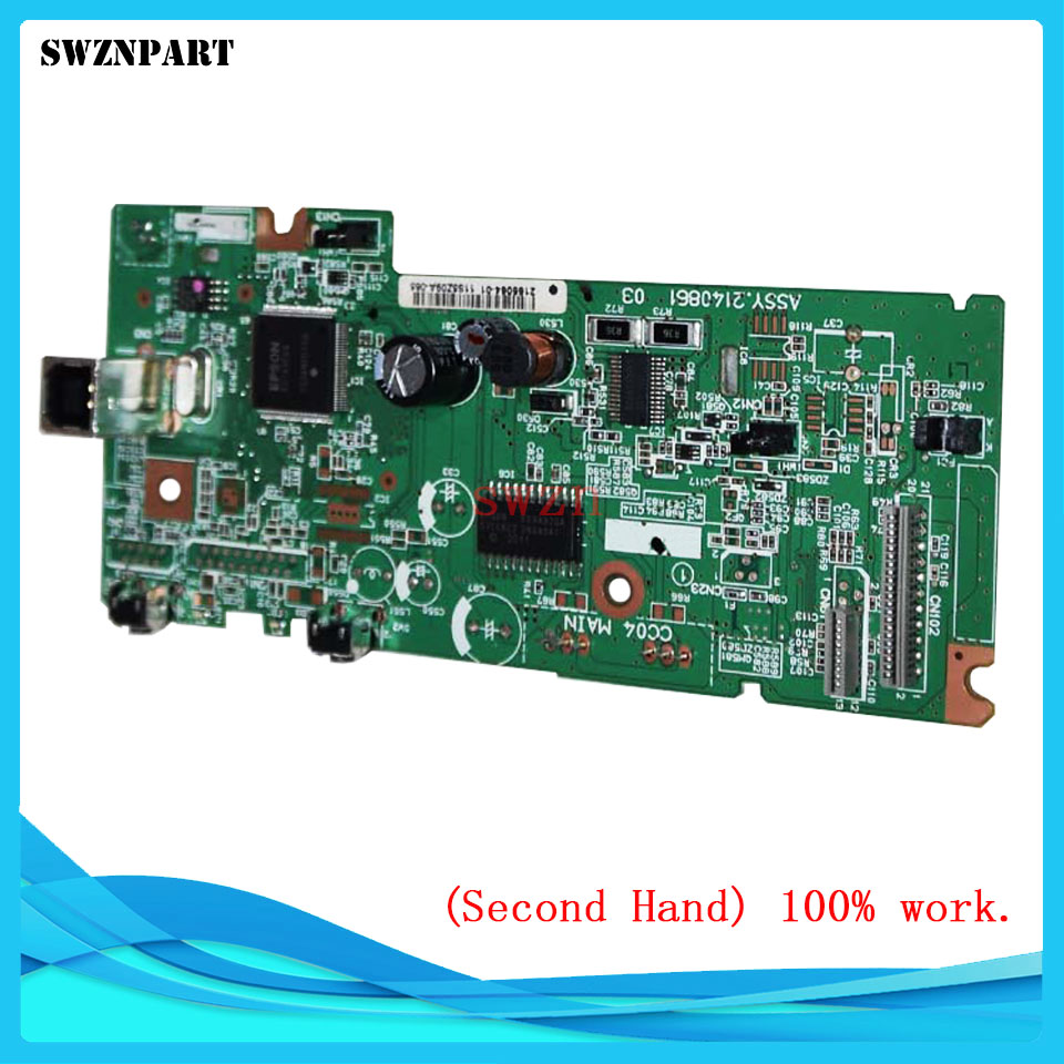 FORMATTER PCA ASSY Formatter Board logic Main Board MainBoard mother board For Epson L380 L383 380 383 used mainboard 90% new mainboard for epson 1500w 1500 w mother board epson assy main board assy