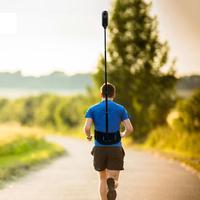 Waist Strap Holder Selfie Stick Mount For Insta360 one X GoPro Hero 5 6 7 Fusion Yi 4K Sjcam Dji Osmo Action Camera Accessories