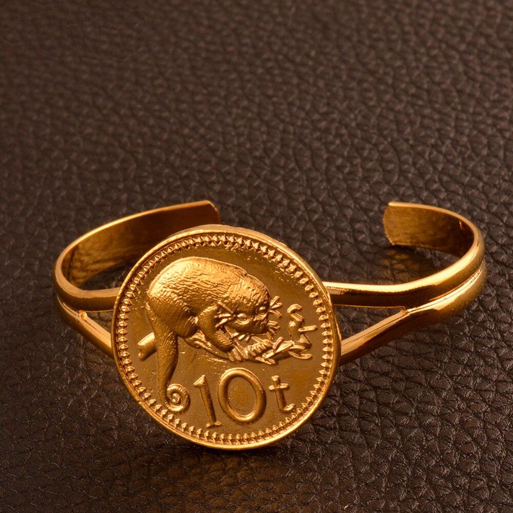 Png Gold Farbe 10 T Kopie Münze Armreif Armband Für Frauen Papua
