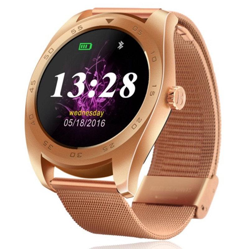 Smart font b Watch b font Heart Rate Fatigue State Bluetooth headset 4 0 for Cellular