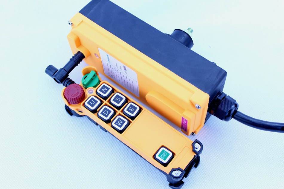 New Arrivals crane industrial remote control HS-6S wireless transmitter push button switch China crane hs 1934