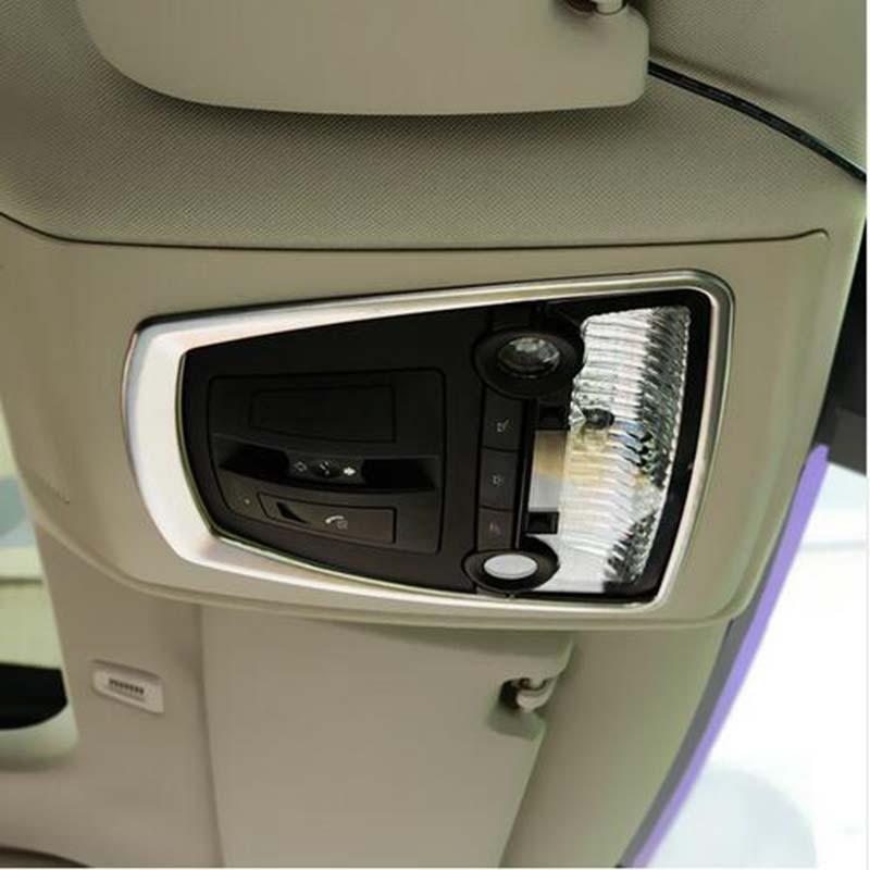 ef63fa69f7e5 Car reading lamp cover decoration car accessories For BMW X3 X4 F25 F26 2011  2012 2013