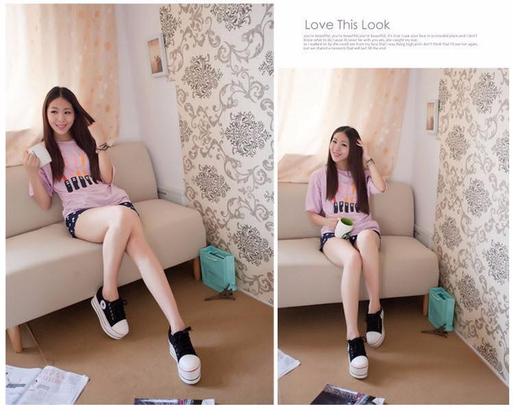 KUYUPP Flat Platform Canvas Shoes Women Creepers 2016 Fashion Sapatilha New Lace Up Casual Flats Ladies Shoes Espadrilles PX138 (27)