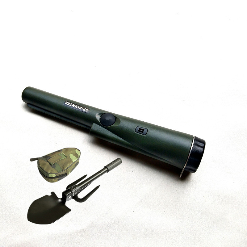 цены Handheld Metal Detector GP-Pointer With Holster and Landyard and Shovel