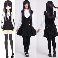 Inu X Boku SS Ririchiyo Shirakiin Uniform Dress Cosplay Costume