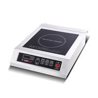 High power electromagnetic oven 3500W Commercial Induction Cooker with digital display Multifunctional Induction Cooker
