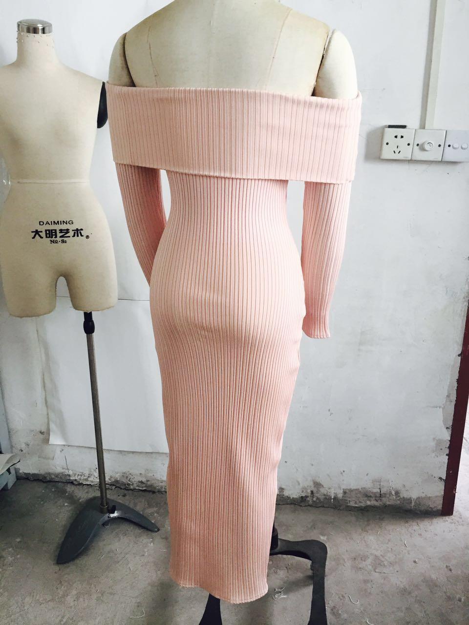 Wholesale schulter charme 2017 dress damen sexy frauen der party weg von langarm verband 3KTlF1Jc