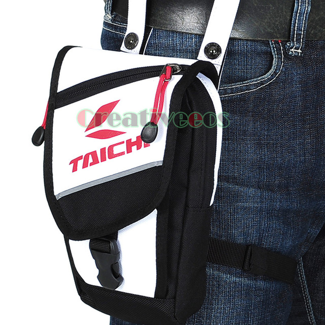 Men's Oxford Travel  Motorcycle Riding Messenger Cross Body Shoulder Belt Hip Bum Fanny Pack Waist Thigh Drop Waterproof Leg Bag