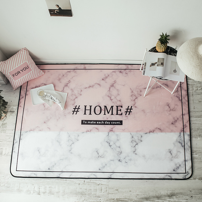 Nordique minimaliste salon chambre tapis tapis antidérapant épaississement tapis enfants escalade tapis Yoga tapis