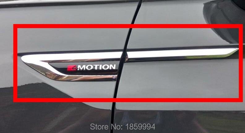 Für 2016 2017 2018 VW Tiguan mk2 4 Motion 4 Motion 4X4 original tür Seitenflügel Fender Emblem abzeichen aufkleber Trim