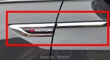 Para 2017 2018 2019 VW tizan mk2 4 Motion 4 Motion 4X4 original lateral de la puerta del ala del guardabarros insignia pegatina ribete