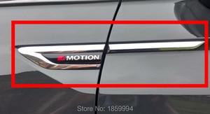 for 2016 2017 2018 VW Tiguan mk2 4 Motion 4Motion 4X4 original door Side Wing Fender Emblem Badge sticker Trim