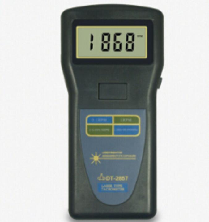 Laser Type Tachometer DT-2857 Portable Digital Tachometer DT2857 photo touch type tachometer dt 2856