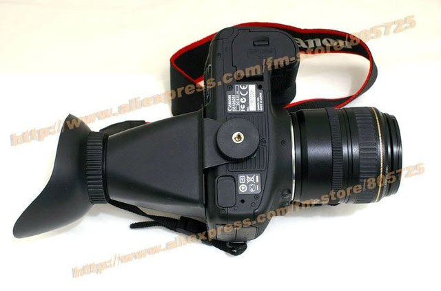 Free Shipping V1 2.8x LCD viewfinder for Canon 500D 50D 5D mark II D7000 107162
