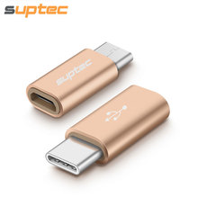 [3 Pack] SUPTEC Type-C Adapter Micro USB Type C Converter Adapter for Macbook Galaxy S8 Oneplus 5t 3t 3 Xiaomi Nexus 5x 6p USB-C