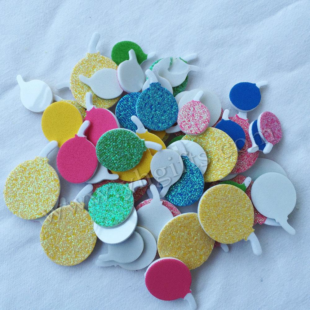 300PCS(5bag)/LOT,Ballon foam stickers,Kids toy.Scrapbooking kit.Early educational DIY.kindergarten crafts.Classic toy.Wall decor