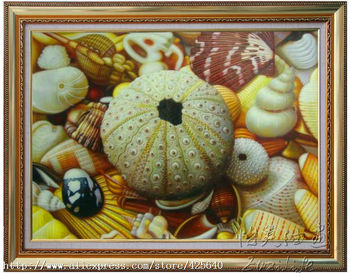 Still Life Shell Oil painting on canvas hight Quality Hand-painted Painting13