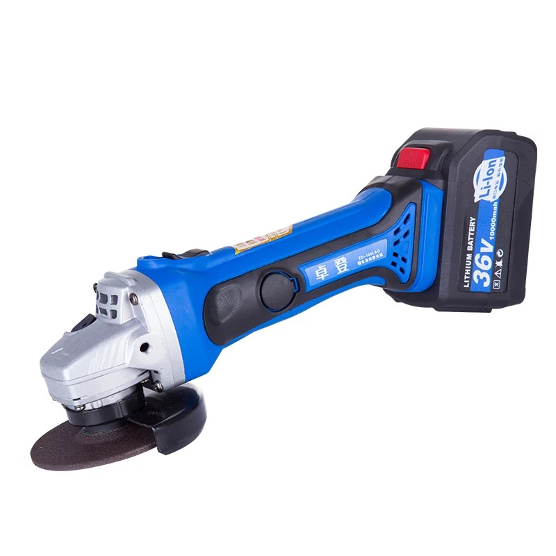36V Cordless Angle Grinder Lithium Battery Rechargeable Grinding Machine Polishing Cutting Grinding Sanding Wax Tool