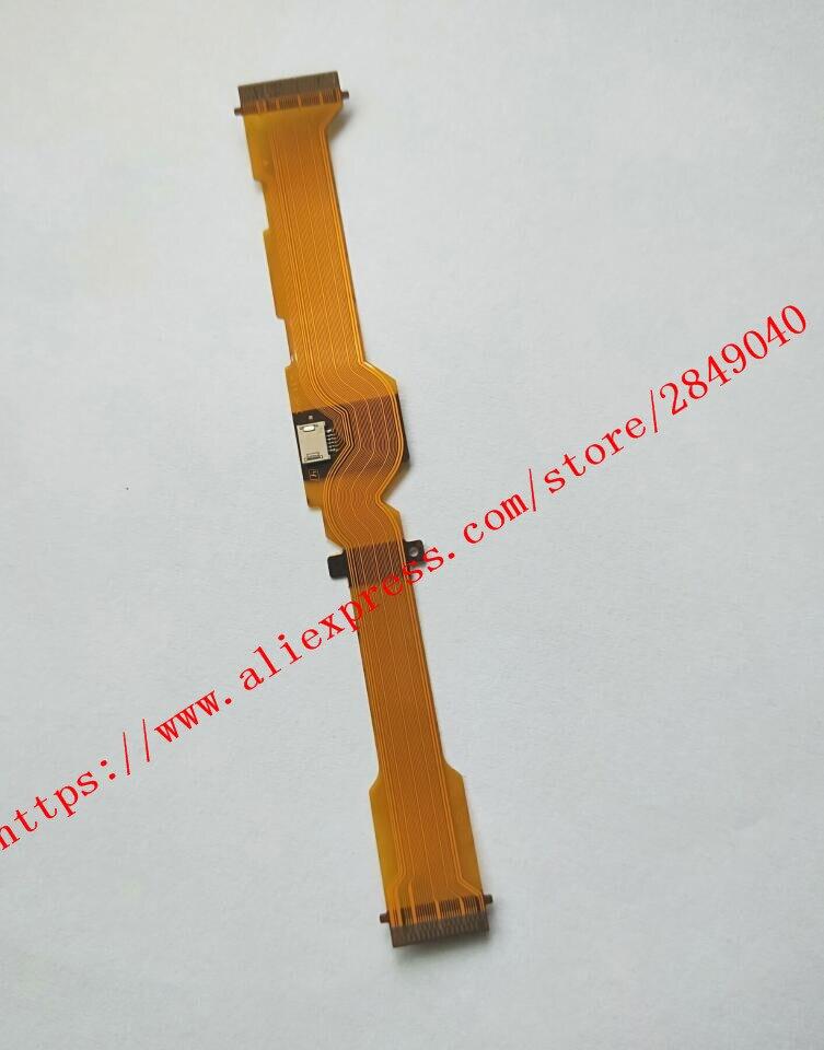 NEW LCD Flex Cable For SONY DSC HX300 DSC HX400 HX300 HX400 Digital Camera Repair Part ( FP 2131 )+ Socket|cable for|cable for sony|cable for camera - title=
