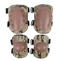 Conjunto de Skate Rodilla Protector de Almohadillas de Protección Del Codo Deportes Ciclismo Tactical Gear 4 Unids Protección Seguridad en Los Deportes