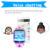 """Gps smart watch q750 relógio bebê 1.54 """"Tela sensível ao toque WiFi Chamada SOS Dispositivo de Localização Rastreador para As Crianças Estudante Seguro Anti-perdido Do Monitor"""