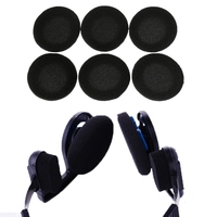 10pcs Black Ear Pads Sponge earpads For Sennheiser PX100 80 px200 KOSS Porta Sporta Pro Ksc 35 75 AKG Headphone earphone headset