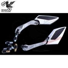 2015 новое Брендовое боковое зеркало для мотоцикла, боковое зеркало заднего вида для мотоцикла, запчасти для мотоцикла, запасное зеркало для ...